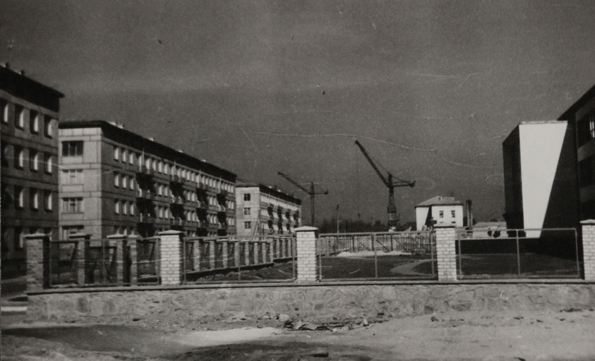 Ligota, ul. Zielonogórska, 1958 lub 1959 r.